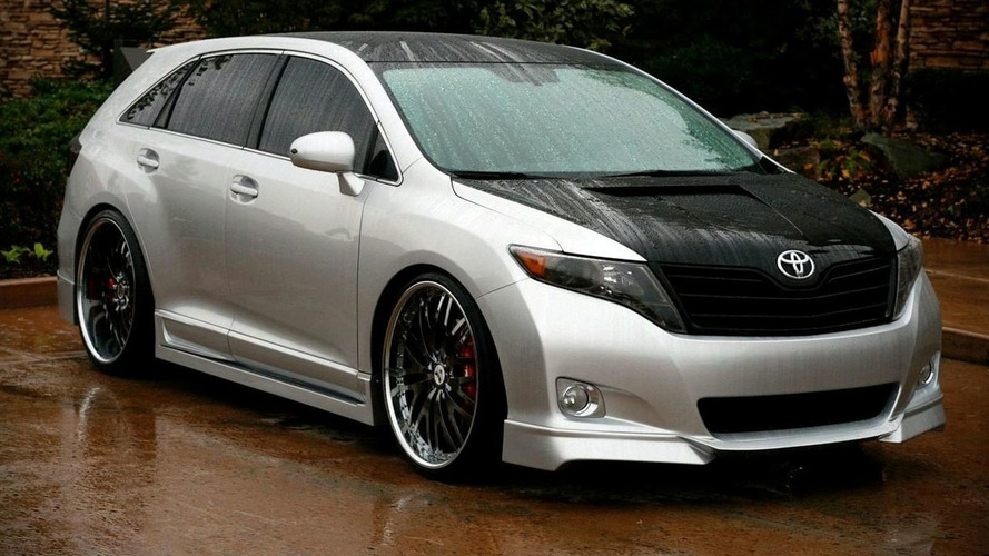 Toyota Venza Sportlux By Street Image For 2008 SEMA Show