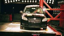 Skoda Roomster EuroNCAP Crash Test