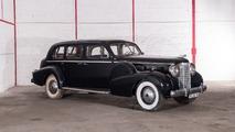 Lot 22 - 1938 Cadillac Série 75 Limousine 7 places avec séparation