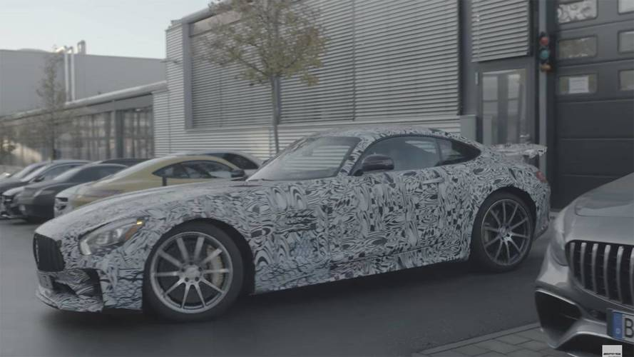 Mercedes-AMG Teases Hotter GT R To Lure New Employees