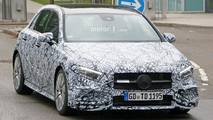 2018 Mercedes-AMG A35 spy photos