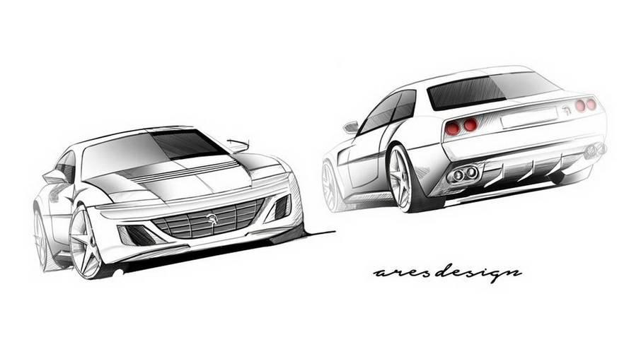 Ares Design Project Pony'de retro Ferrari GTC4Lusso havası var
