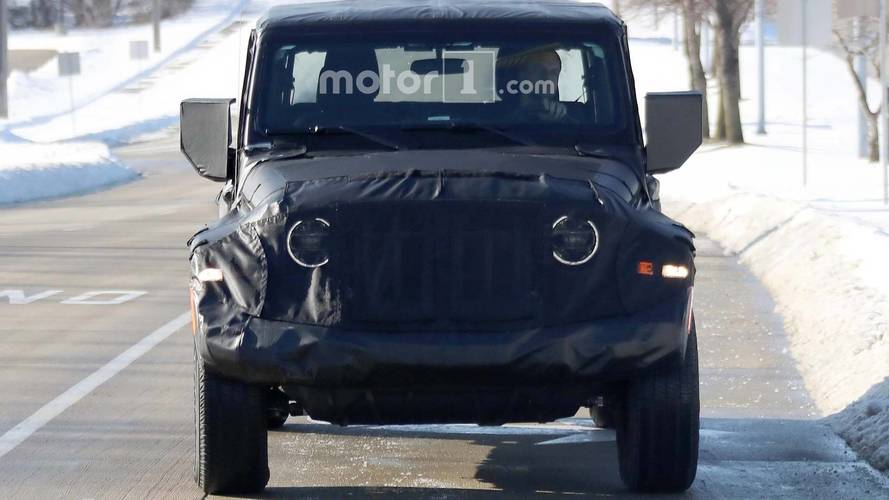 2019 Jeep Scrambler Spy Photos