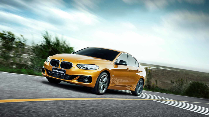 Concorrente do A3 Sedan, BMW Série 1 Sedan aparece oficialmente na China
