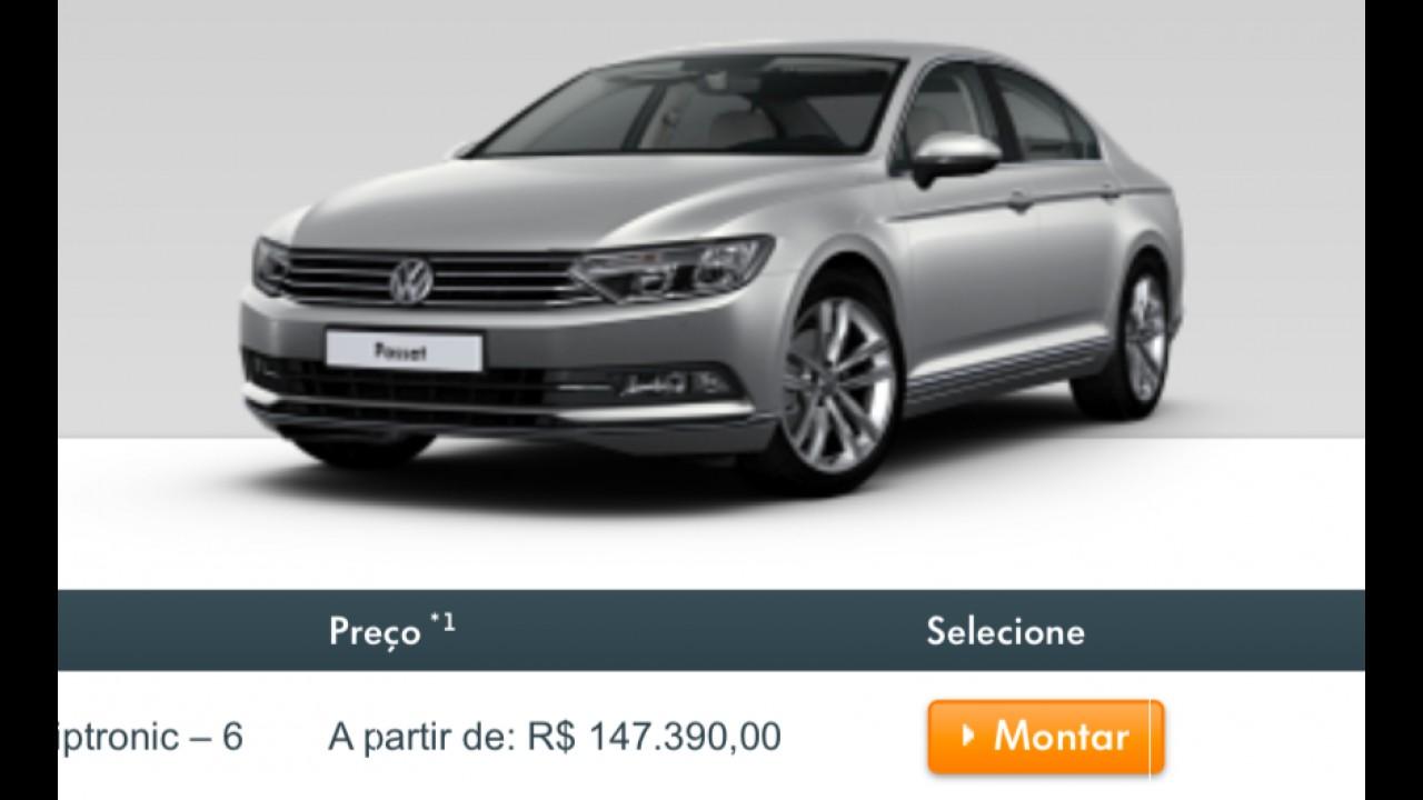 Lançado há menos de dois meses, novo Volkswagen Passat já está mais caro
