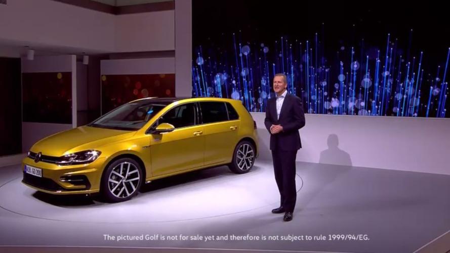 Volkswagen Golf 2017 - facelift