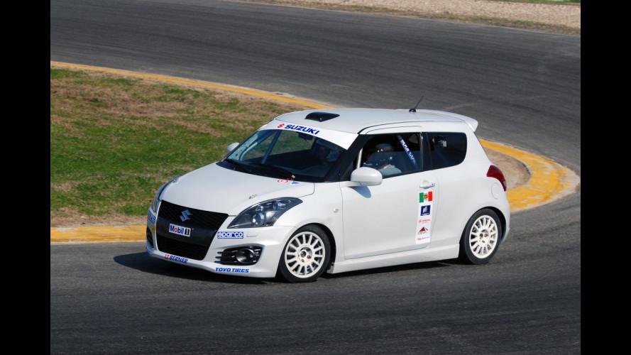 Suzuki Swift a GPL: novità nei rally