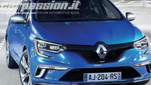 2016 Renault Megane leaked image / CarPassion.it