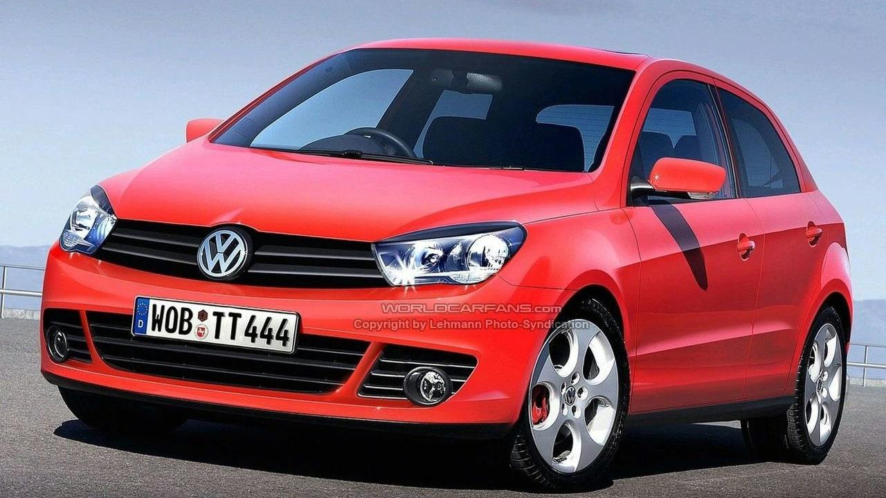 VW Polo V Rendering