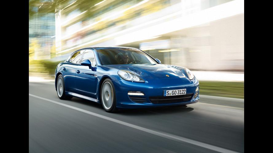 Porsche Panamera passo lungo: in arrivo nel 2012