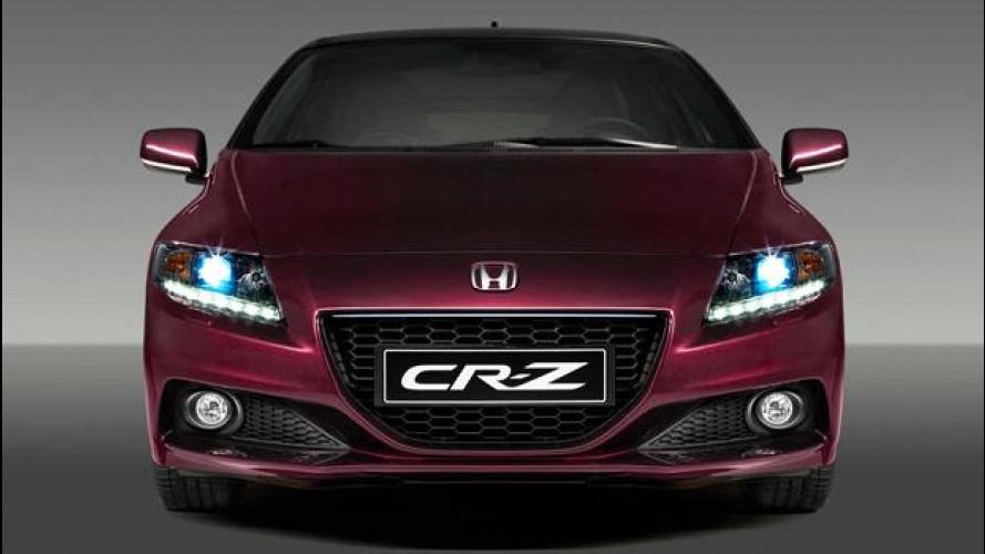 La Honda CR-Z si aggiorna