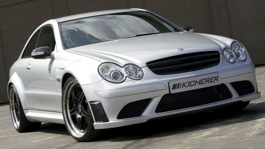 Kicherer Tunes the Mercedes CLK63 AMG Black Edition