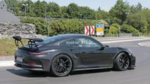 2018 Porsche 911 GT3 RS Nürburgring casus fotoğrafları