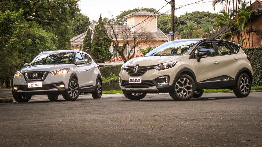 Nissan Kicks terá plataforma de Renault Duster na Índia