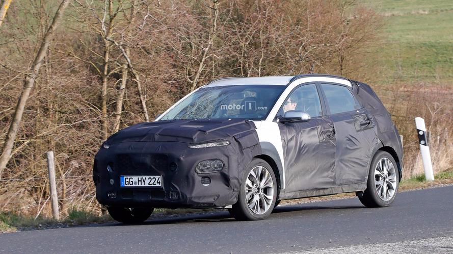 Photos espion - Le Hyundai Kona bientôt prêt à en découdre