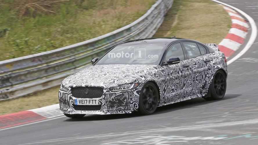 Hardcore Jaguar XE Spied, Could Be The SV Project 8