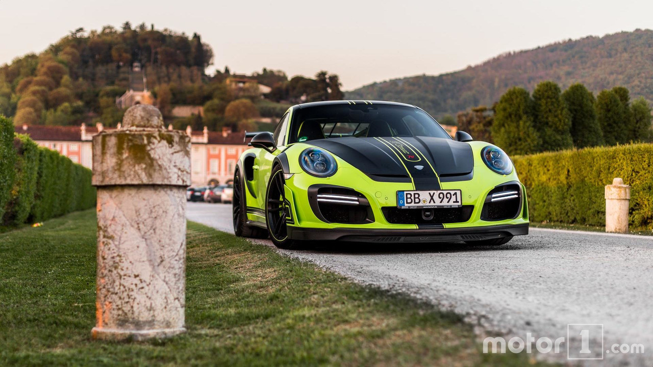 Porsche 911 Turbo S TechArt GTstreet R