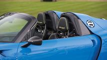 Arrow Blue Porsche 918 Spyder