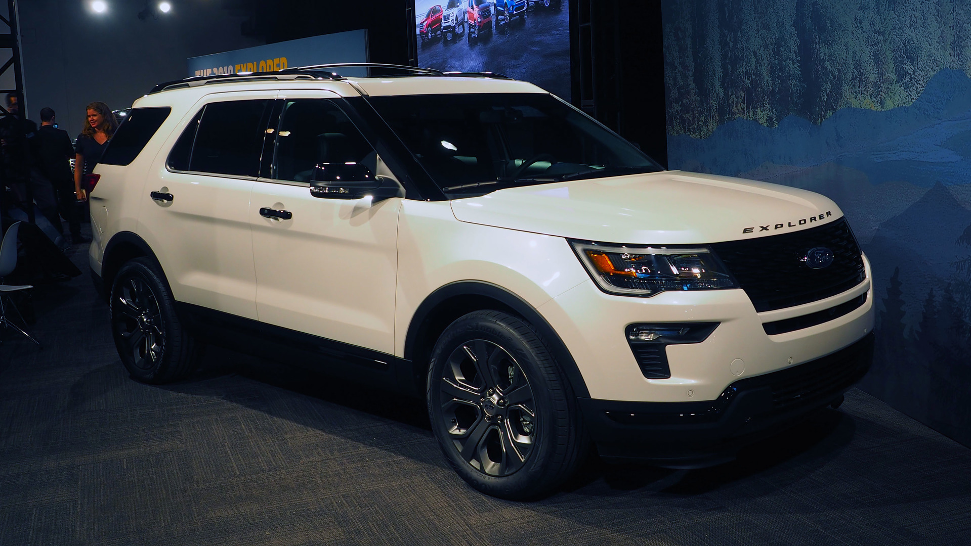 2018 Ford Explorer Updates In New York With More Tech, Safety