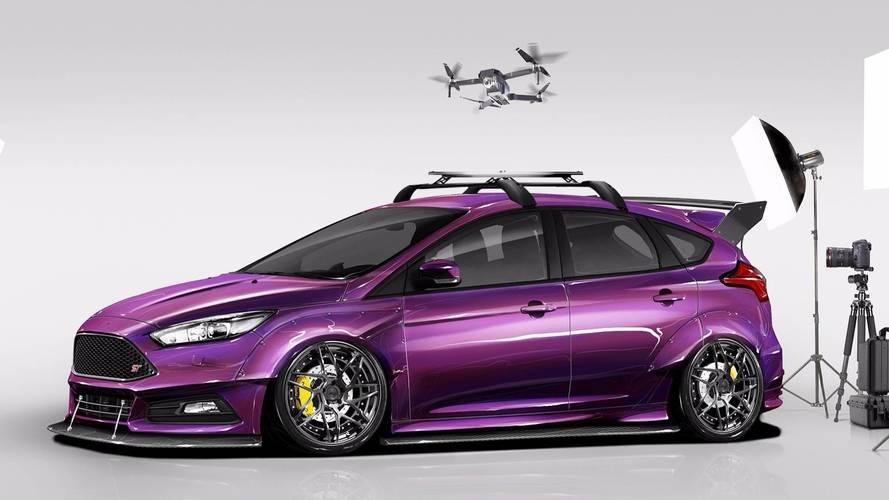 Ford Focus terá quatro conceitos preparados para o SEMA