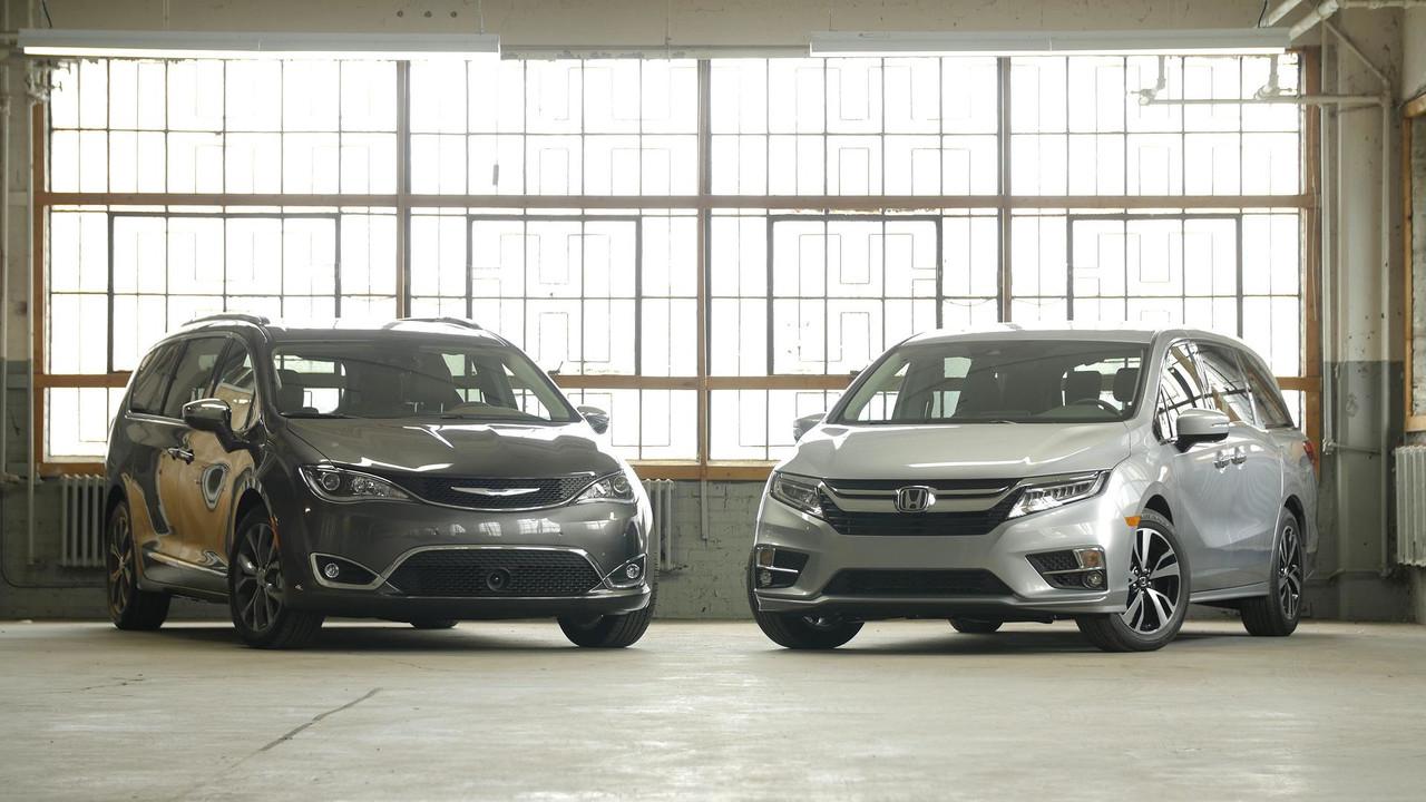 2017 Chrysler Pacifica Vs 2018 Honda Odyssey