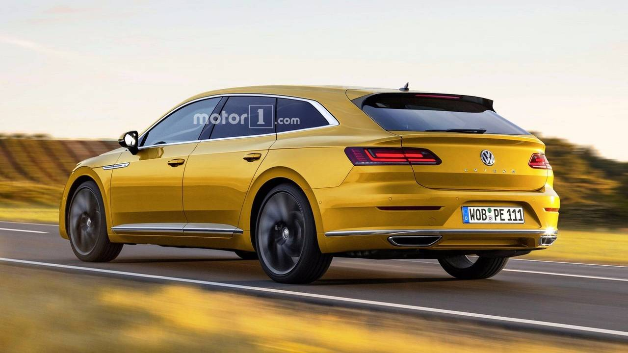 Render Volkswagen Arteon Variant