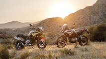 BMW F750 and 850 GS