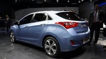 2012 Hyundai i30 live in Frankfurt 13.09.2011