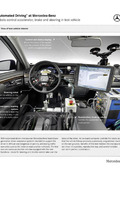 """Automated Driving"" at Mercedes-Benz - Robots control accelerator, brake and steering in test vehicle"