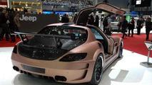 Mercedes SLS AMG tuned into the HAMANN HAWK