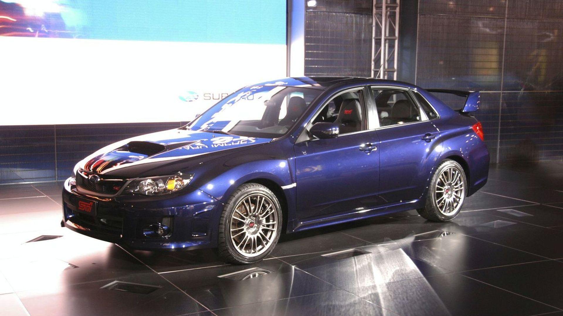 2011 subaru wrx sti sedan revealed vanachro Choice Image