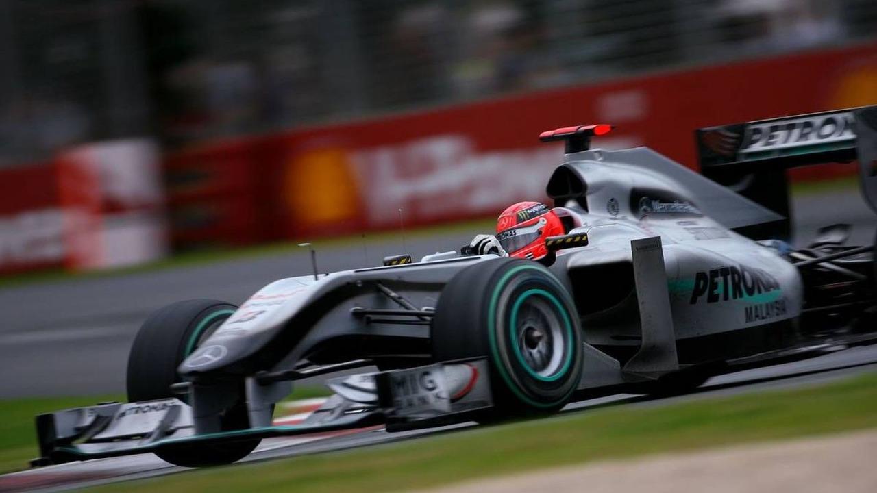 Michael Schumacher finishes 10th at 2010 Australian Grand prix