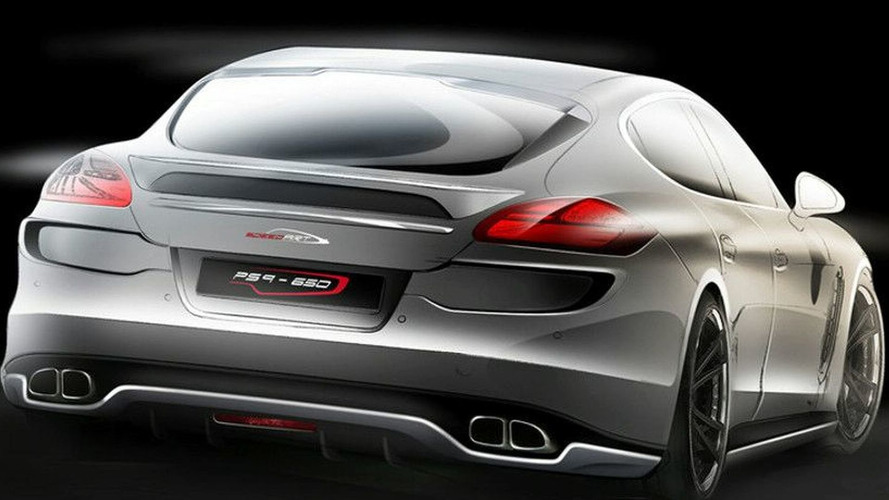 SpeedART Porsche Panamera Turbo Tuning First Sketches