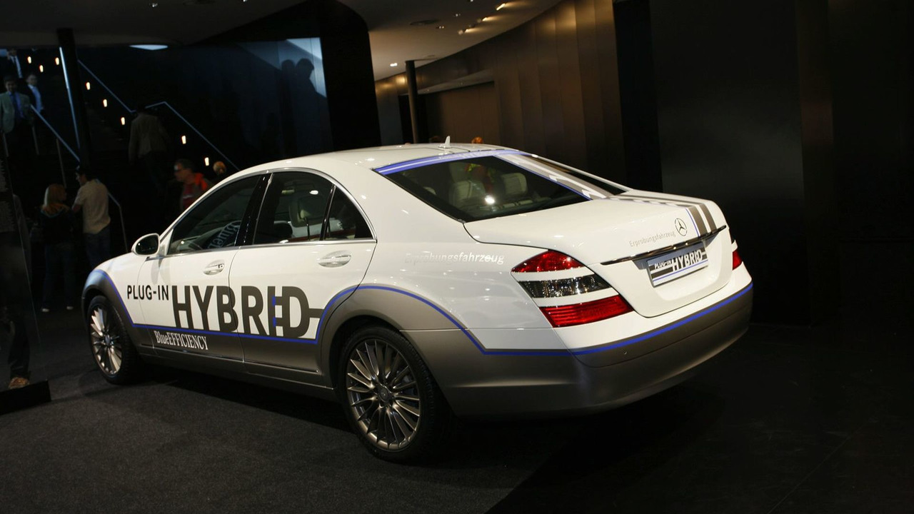 Mercedes Vision S 500 Plug-in hybrid at 2009 Frankfurt Auto Show