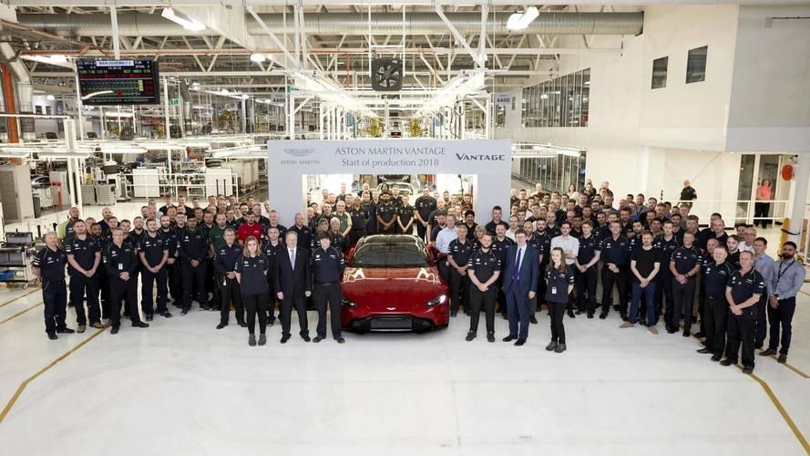 New Aston Martin Vantage Hits The Assembly Line