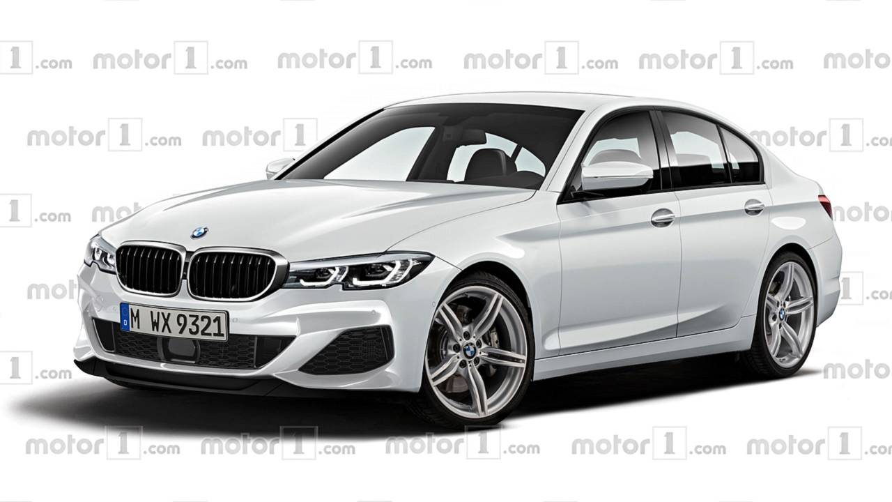 2019 Bmw 3 Series Render Envisions The Quintessential