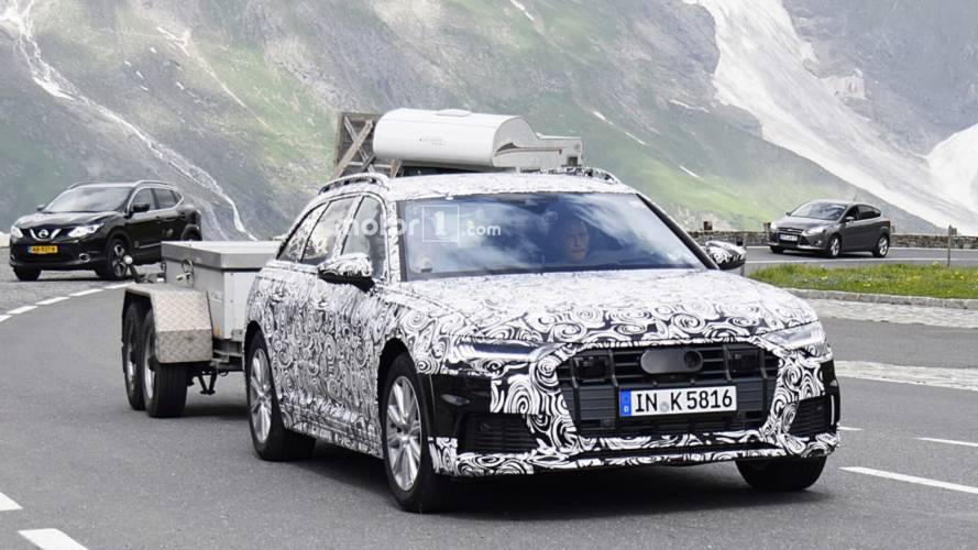 2020 Audi A6 Allroad spy photos