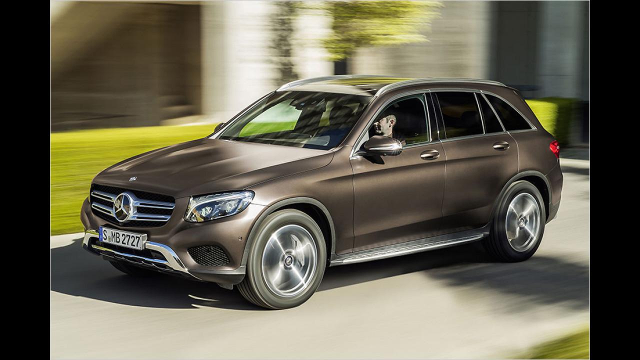 Kompakte SUVs: Mercedes GLC 350 e