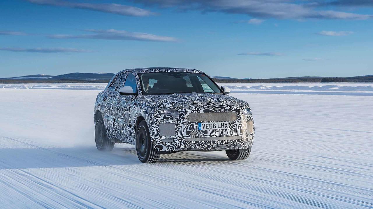 Jaguar E-Pace prototype testing