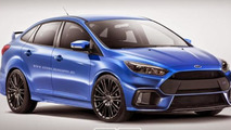 Ford Focus RS Sedan rendering