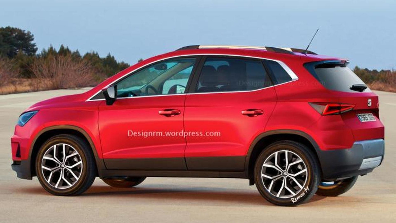 Seat Ibiza Based Subcompact Crossover Rendered