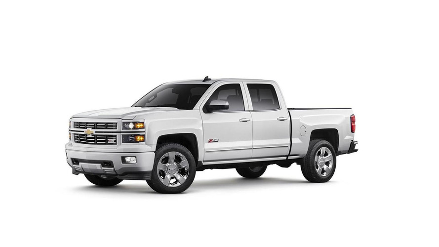 Chevrolet Silverado Custom Sport special edition announced with body-colored finish