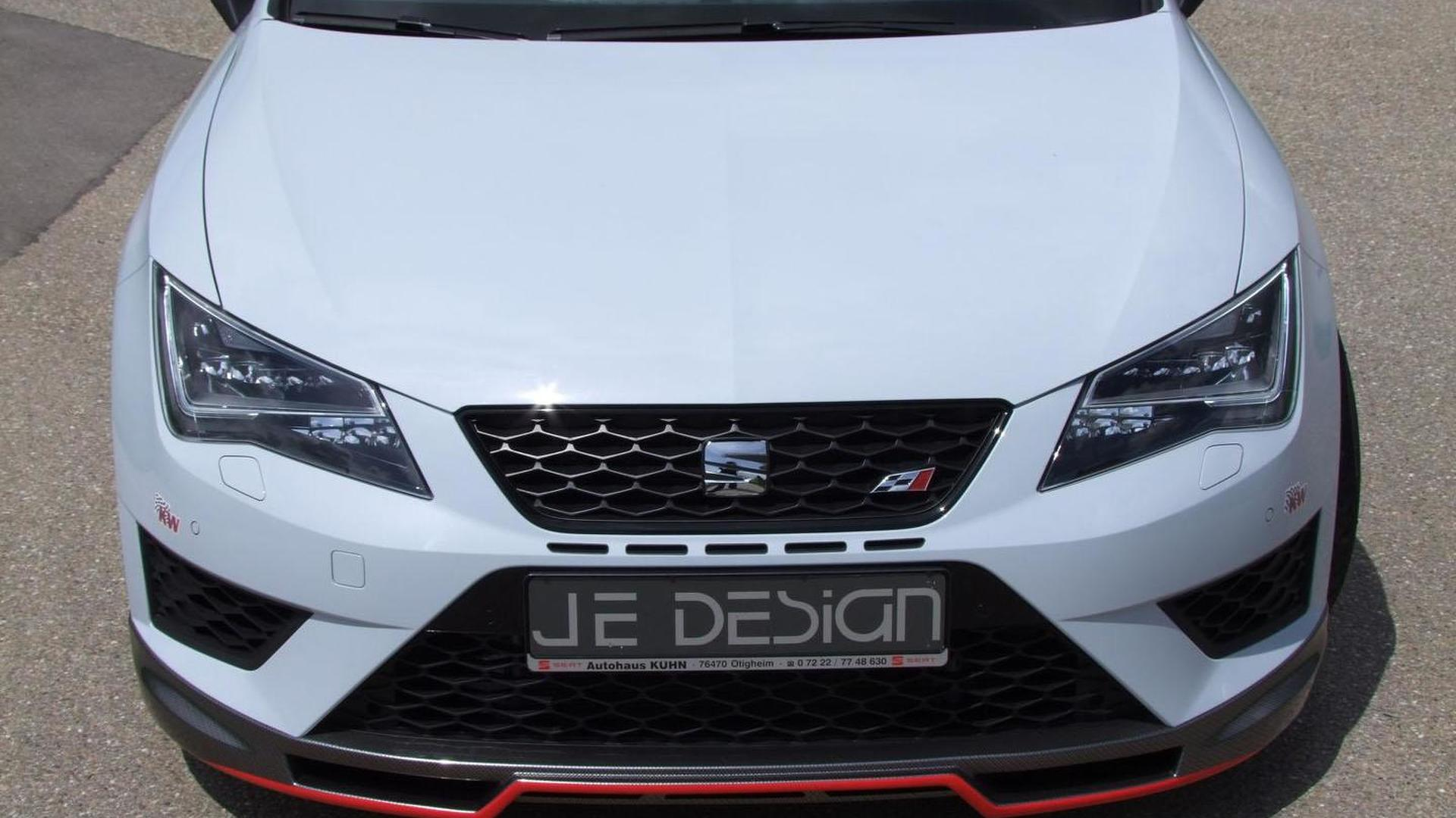 Бампер SEAT Leon Cupra 280 от JE Design