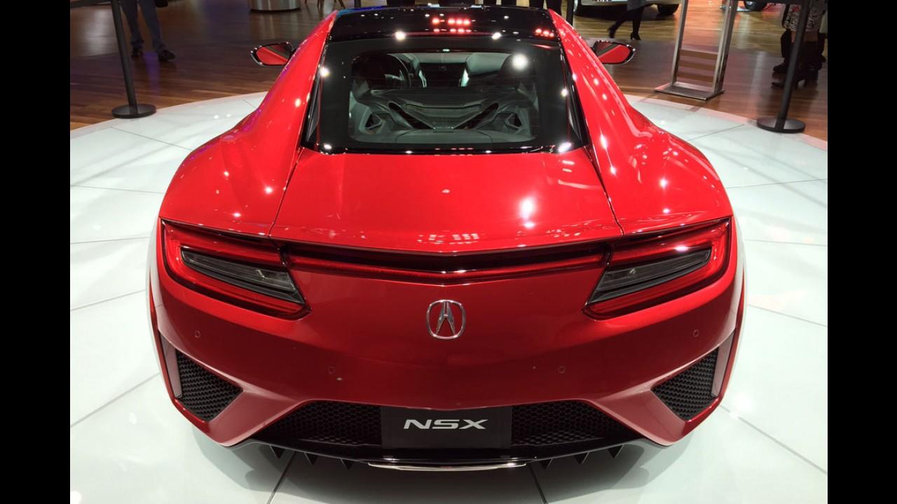 NSX deve ganhar versão Type R ainda mais esportiva em breve