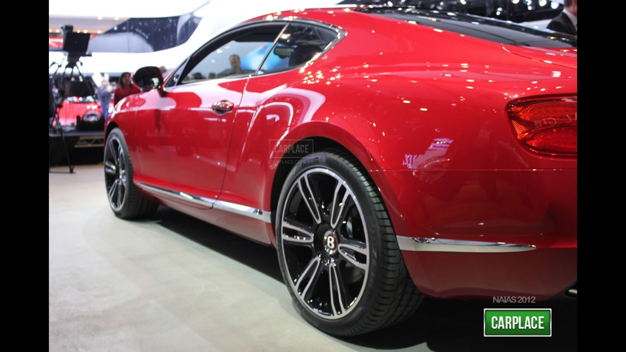 Direto de Detroit: Fotos do Novo Bentley Continental GT V8