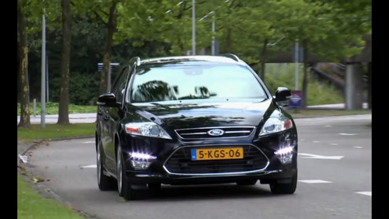 Ford relembra 20 anos de história do Mondeo em vídeo