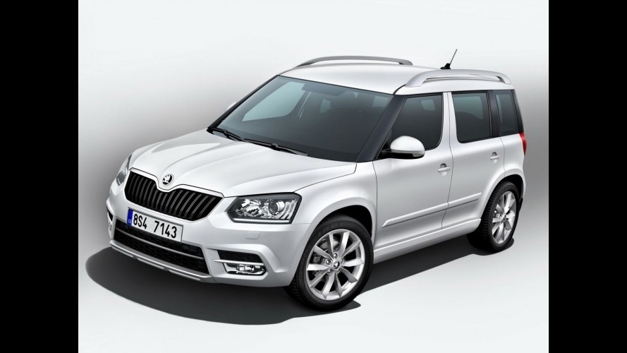 frankfurt skoda apresentar yeti com visual reestilizado. Black Bedroom Furniture Sets. Home Design Ideas