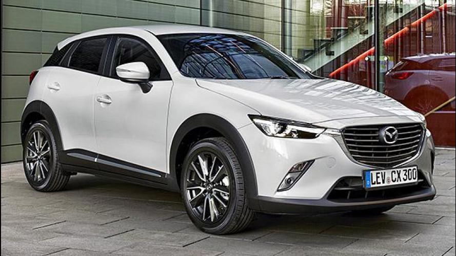 Mazda CX-3, tutti i prezzi e le concorrenti