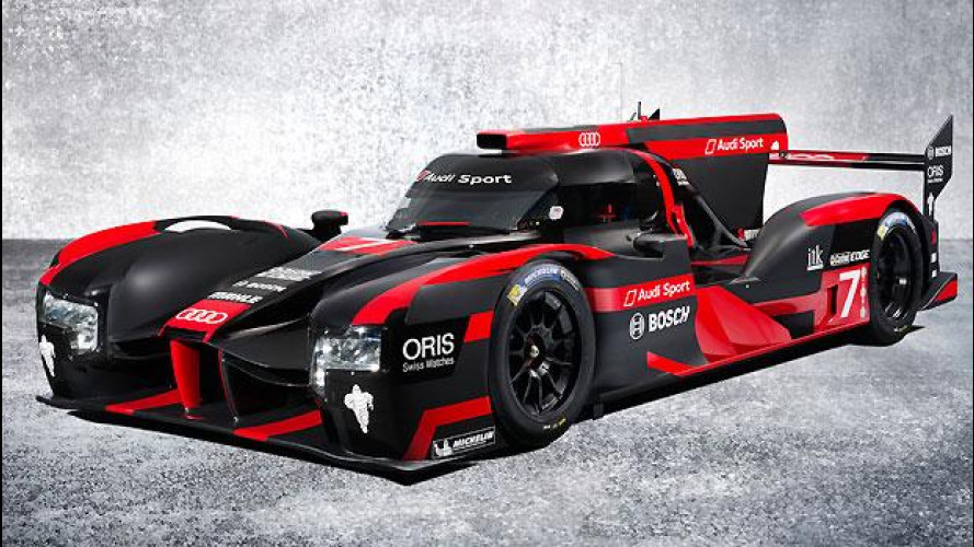 Audi R18, ibrida e pronta per Le Mans 2016