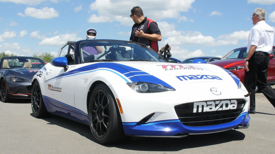 2017 Mazda Global MX-5 Cup Race Car: First Drive Video
